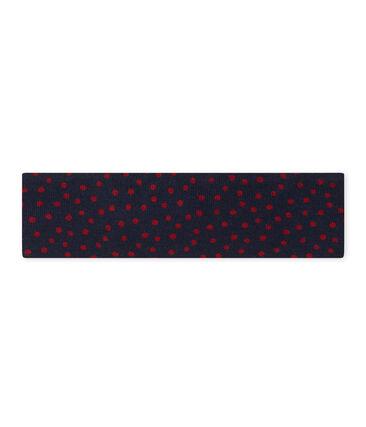 Haarband met strikje voor meisjes blauw Smoking / rood Terkuit