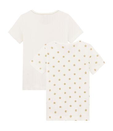 Set van twee T-shirt voor meisjes set .
