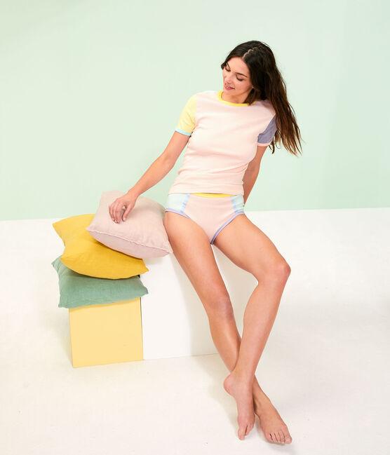Iconisch damesshirt wit Multico