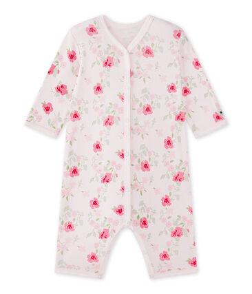 Pyjama zonder voetjes met dessin voor babymeisjes