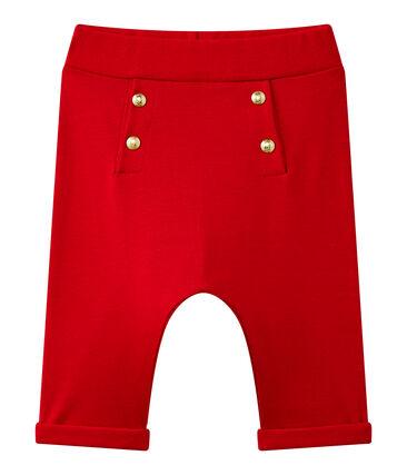 Pantalon bébé fille uni