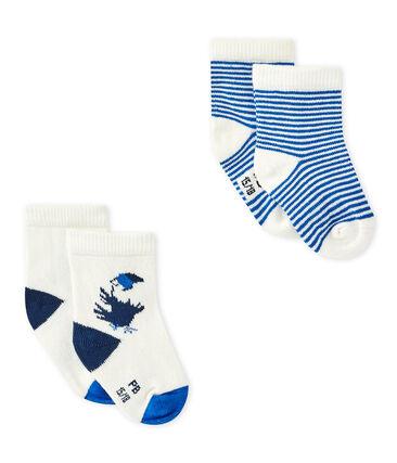 Set van twee paar sokken voor babyjongens