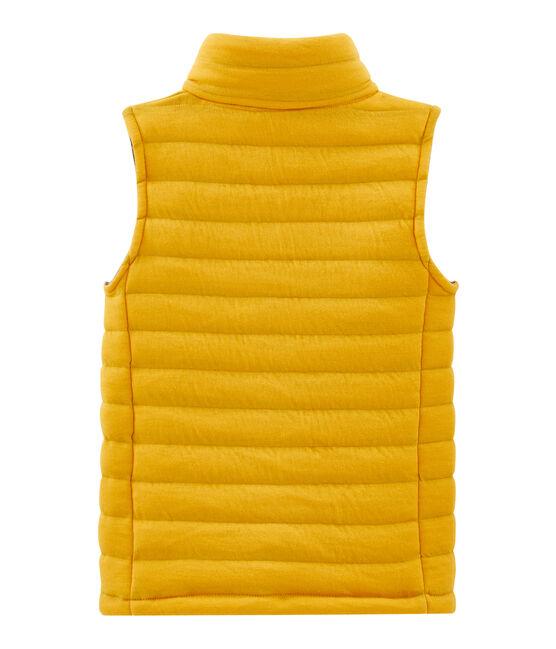Mouwloze jas kinderen geel Boudor