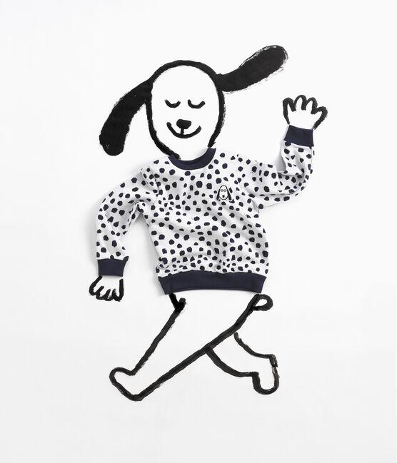 Sweat shirt Jean Jullien MARSHMALLOW/DOTTIES