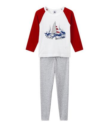 Pyjama garçon sérigraphié