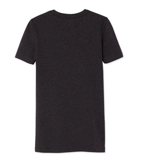 Iconisch T-shirt met korte mouwen vrouwen grijs City Chine