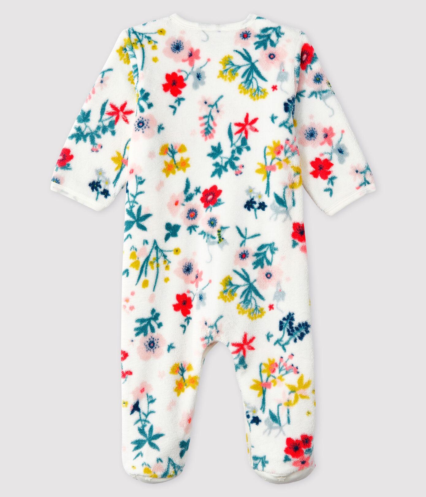 Pyjama met voetjes in fluweel met tutu spirit | Tutu