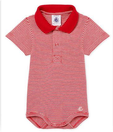 Body manches courtes col polo bébé garçon milleraies  b972080b64e