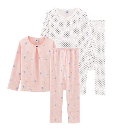 Duo de pyjamas petite fille lot .