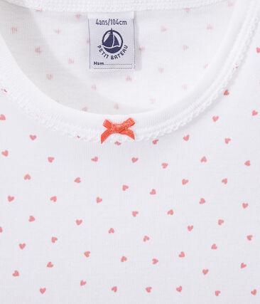 Meisjesnachthemd met hartjesdessin