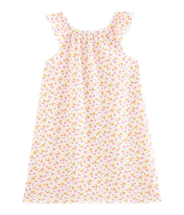 Chemise de nuit petite fille en coton fin