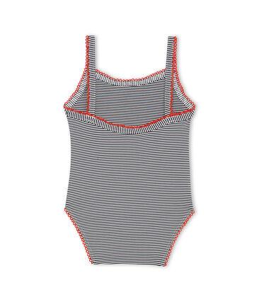 Badapak met milleraies-strepen voor babymeisjes