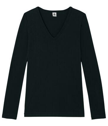 tee-shirt femme manches longues