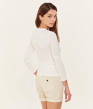 Tee-shirt iconique manches longues femme