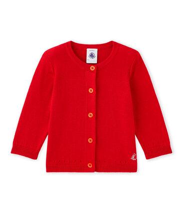 Cardigan bébé fille en coton