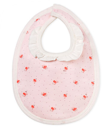 Slabbetje met print voor babymeisjes
