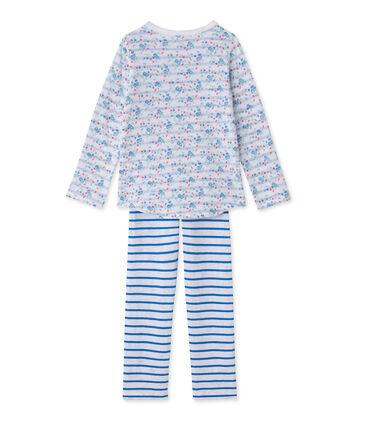 Omkeerbare meisjespyjama in tubic