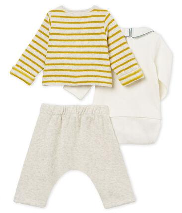 Uniseks ensemble van 3 delen voor baby's