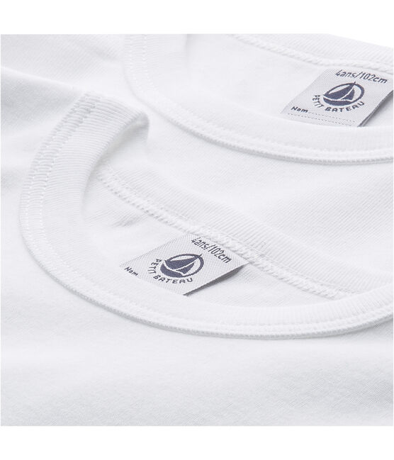 Set van 2 T-shirts korte mouwen jongens set .