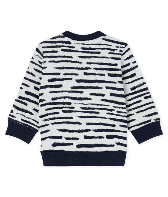Sweatshirt bébé mixte Jean Jullien MARSHMALLOW/DASH