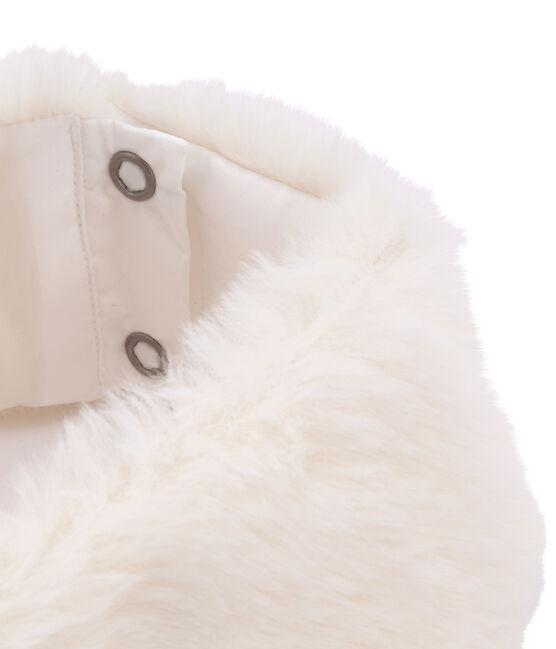 Kraagje en manchetten voor meisjes wit Marshmallow