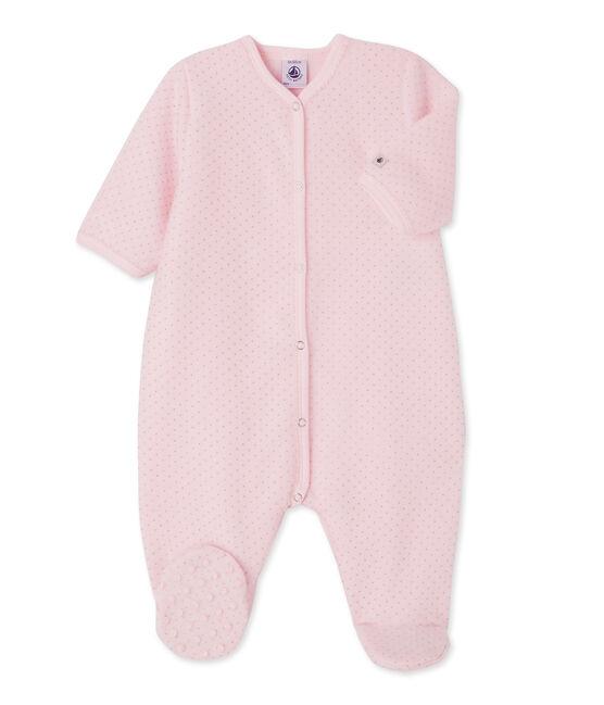 Slaappakje voor babymeisjes roze Vienne / grijs Mistigri