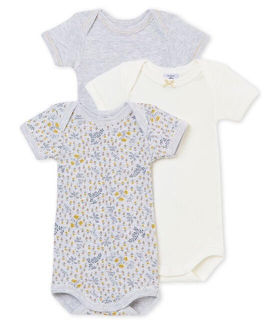 Set van 3 body's met korte mouwen voor babymeisjes set .