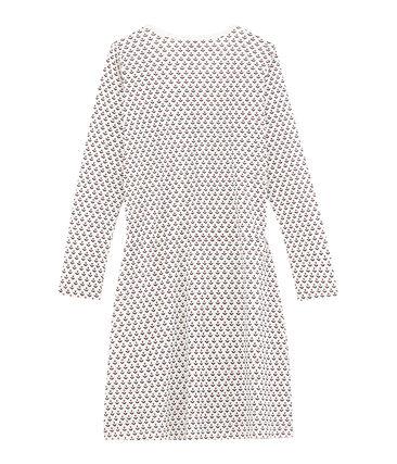 Chemise de nuit fille blanc Marshmallow / blanc Multico