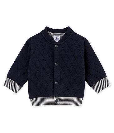Vest in doorgestikte tubic voor babyjongens