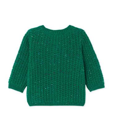 Cardigan bébé fille en laine mélangée