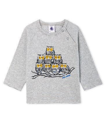 T-shirt met lange milleraies mouwen babyjongen