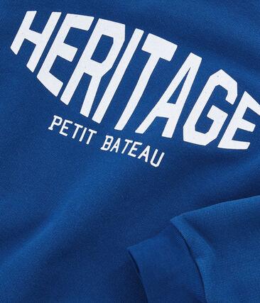 Sweatshirt jongens blauw Limoges