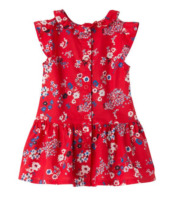 Robe bébé fille imprimée rood Peps / wit Multico