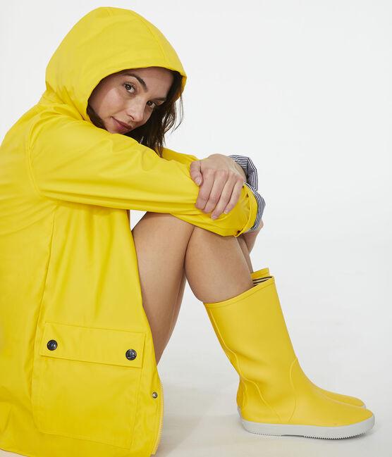 Iconische Dames/Heren oliejas geel Jaune