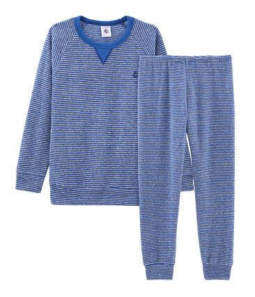 Pyjama petit garçon en bouclette éponge grattée extra chaude