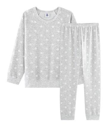 Meisjespyjama van fluweel