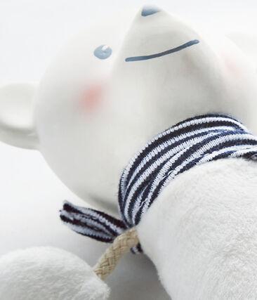 Doudou ours sifflet bébé mixte