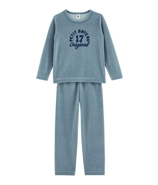 Jongenspyjama blauw Astro