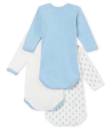 Set van 3 body's met lange mouwen voor babyjongens