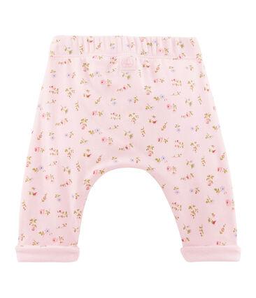 Uniseks broek roze Vienne / wit Multico