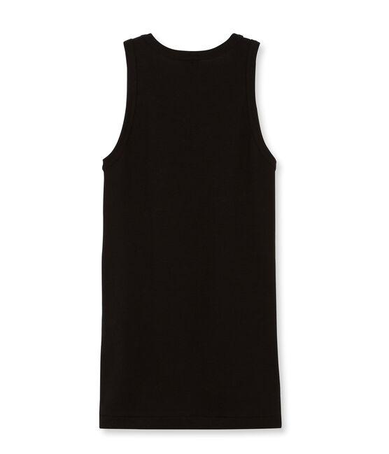 Effen hemdje vrouwen zwart Noir
