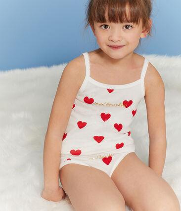 Trio de chemises à bretelles petite fille