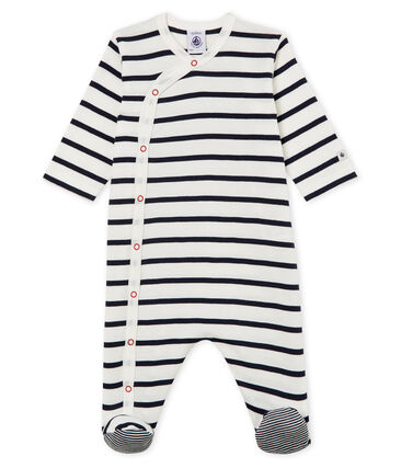 Uniseks pyjama van ribstof