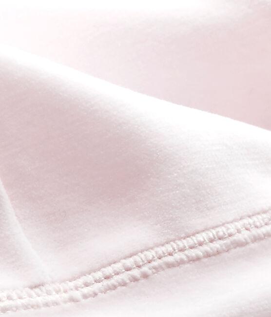 Uniseks eerste mutsje in fluweel roze Vienne