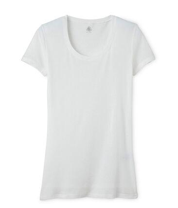 Licht katoenen dames-T-shirt