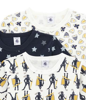 Set van 3 jongens T-shirts met korte mouwen set .