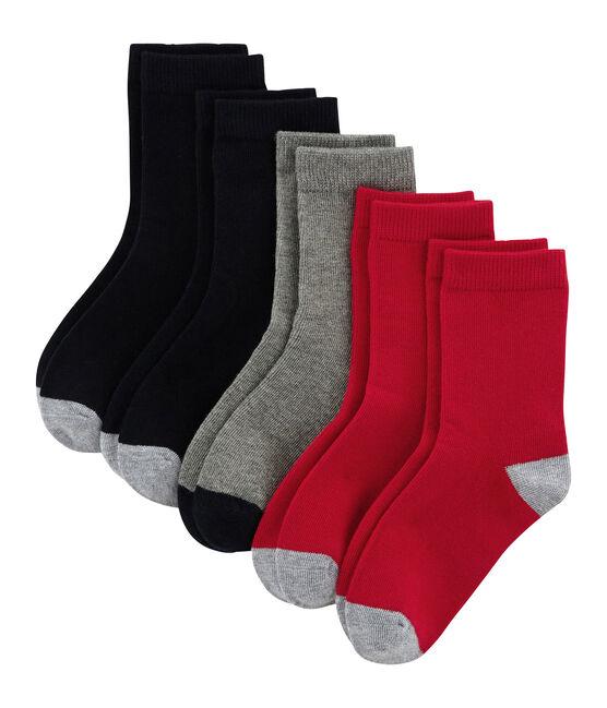 Lot de 5 paires de chaussettes enfant garçon lot .