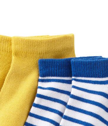 Lot de 2 paires de chaussettes garçon