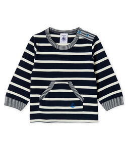 T-shirt lange mouwen met streep babyjongen