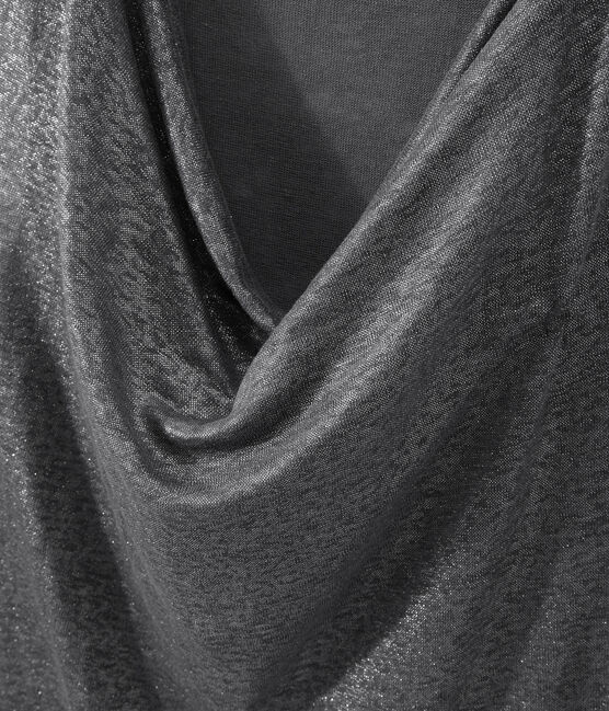 Linnen damestop met iriserend effect grijs Maki / grijs Argent